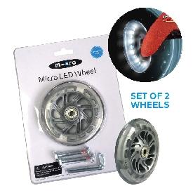 Micro scooter led wheel mini micro 120 mm set