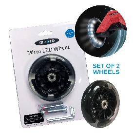 Micro scooter led wheel maxi micro 120 mm set