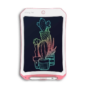 """Lcd writing tablet 10"""" - pink"""