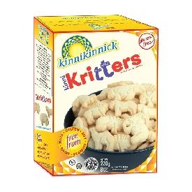 Kinnikritters  Animal Cookies - VANILLA (Gluten free)