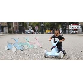 รถโกคาร์ทสำหรับเด็ก 2in1 สีฟ้า