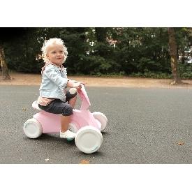 รถโกคาร์ทสำหรับเด็ก 2in1 สีชมพู