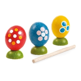 Egg Percussion Set