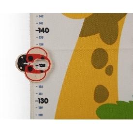 แผ่นวัดส่วนสูงสัตว์ป่า