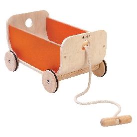 รถลากใส่ของ - สีส้ม