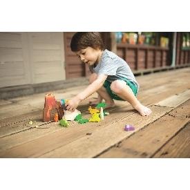 ชุดของเล่นไม้ โลกของไดโนเสาร์