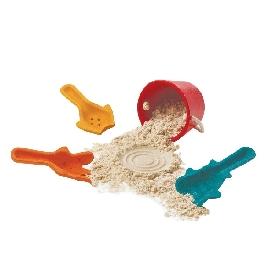 ของเล่นไม้ชุดขุดทราย