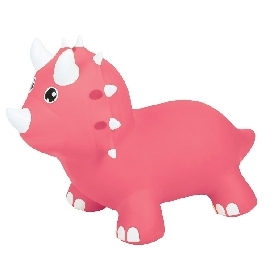 Jumpy Triceratops Pink