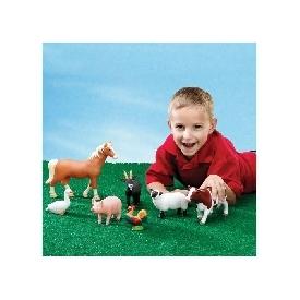 ตุ๊กตาสัตว์ในฟาร์มขนาดยักษ์
