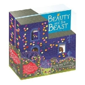 Beauty and the beast storybook gift set