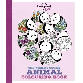 The world's cutest animal coloring book - panda