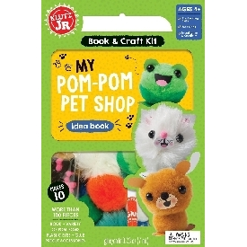 Klutz Jr - MY POM-POM PET SHOP