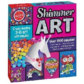 ศิลปะจากเลื่อมหลากสี