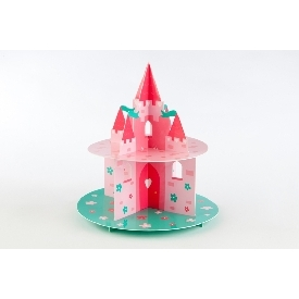 Two tier cake stand pretty princess