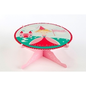 Single layer cake stand pretty princess