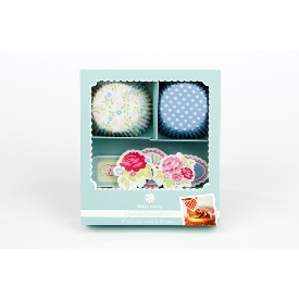 Cupcake set floral treat