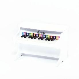 Mini piano white