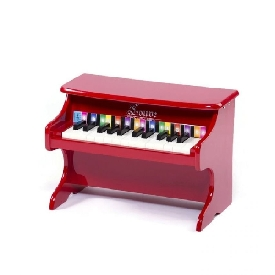 Mini piano red