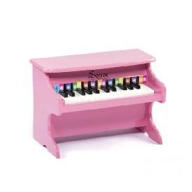 เปียโนจิ๋วสีชมพู