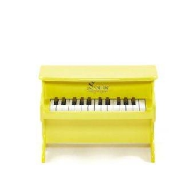 Mini piano yellow