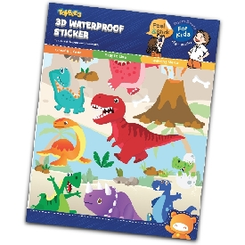 Little Dino - Waterproof Sticker
