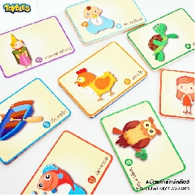 Jumbo flash card – ก-ฮ