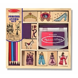 Stamp set - princess