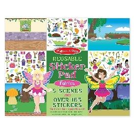 Fairies reusable sticker pad