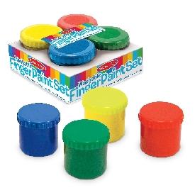 Finger paint set 4 colors