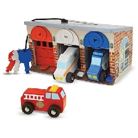 Lock and roll rescue truck garage