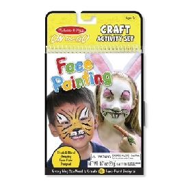 On the go crafts face painting
