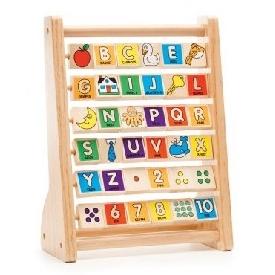 บอร์ดกระดานสอนตัวอักษรภาษาอังกฤษ และตัวเลข