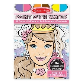 Paint with water – princess