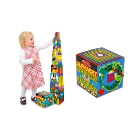 Alphabet stacking & nesting blocks