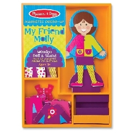My friend molly magnetic dress-up