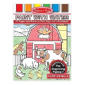 Paint With Water –  Farm Animals