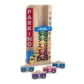 Stack and count parking garage