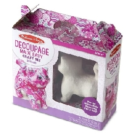 Decoupage craft set kitten