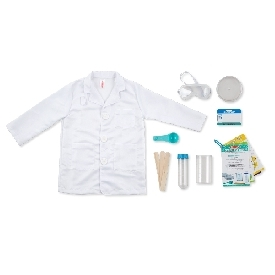 Role play costume scientist