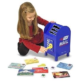 ชุดของเล่นตู้รับจดหมายและสแตมป์