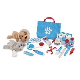 Pet vet play set