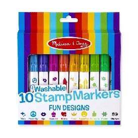 Washable stamp markers 10pc