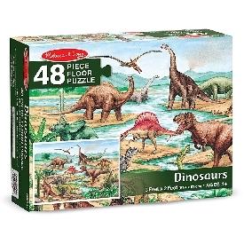 จิ๊กซอว์รูปไดโนเสาร์ 48 ชิ้น