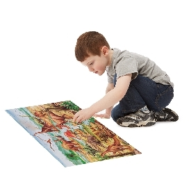 Floor puzzle dinosaurs 48pc