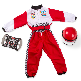 Role play costume - race car