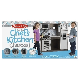 Chef's kitchen set - charcoal
