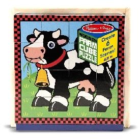 cube puzzle - farm