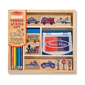 Stamp set - vehicles