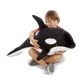 orca giant stuffed animal