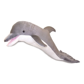 Dolphin giant stuffed animal